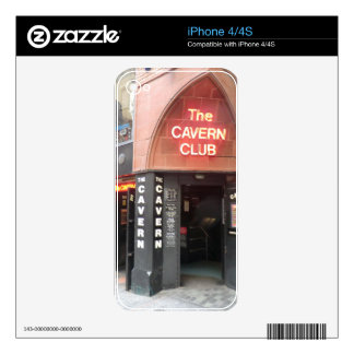 The Cavern Club in Liverpool's Mathew Street Skins For The iPhone 4S