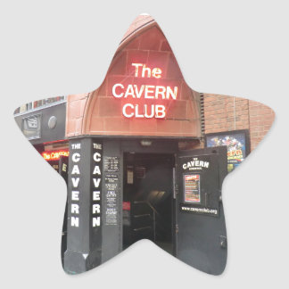 The Cavern Club in Liverpool's Mathew Street Star Sticker