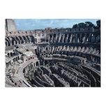 The cavernous interior of the ancient Roman Coloss Custom Invite