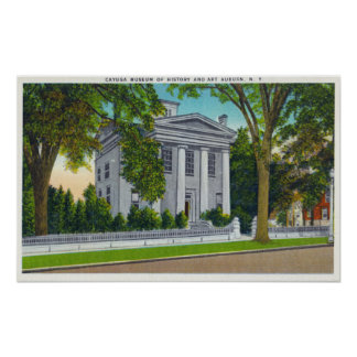 The Cayuga Museum of History and Art Poster