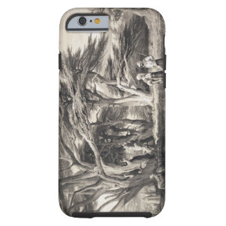 The Cedars of Lebanon, engraved by Freeman (sepia Tough iPhone 6 Case