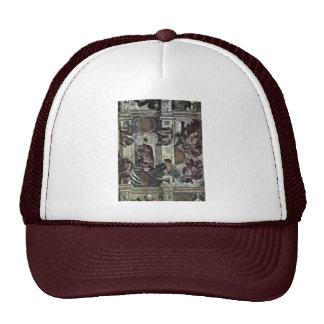 The Ceiling Fresco In The Sistine Chapel Genesis M Trucker Hats