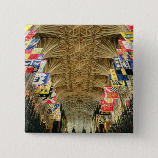 The Ceiling of St. George's Chapel, Windsor Pinback Button