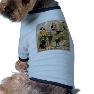 The Celebrated French Aerielists and Acrobats Dog Clothes