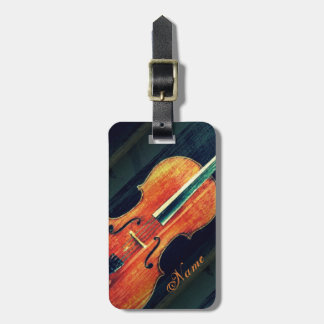 The Cello/Personalized Tag For Bags