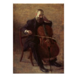 The Cello Player Posters