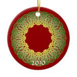 The Celtic Christmas Knotwork Ornament 2010