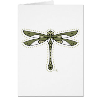 The Celtic Dragonfly Greeting Cards