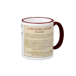 The Celtic Dragonfly Coffee Mug