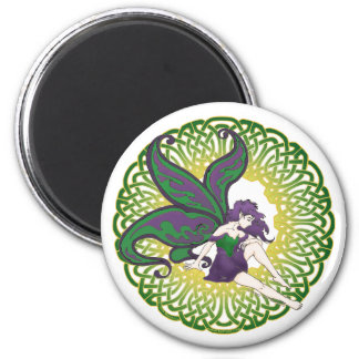 The Celtic fairy Nightshade Magnets
