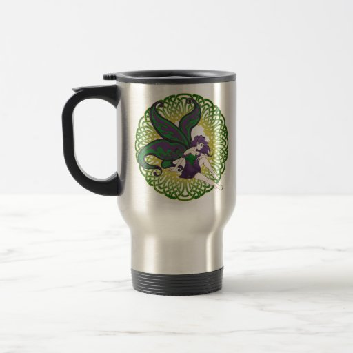 The Celtic fairy Nightshade mugs