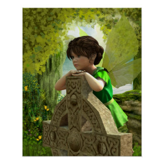 The Celtic Fairy Poster Print