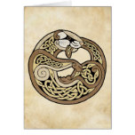 The Celtic Ferret Greeting Card