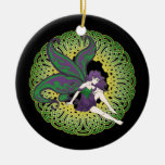 The Celtic Nightshade Fairy ornaments