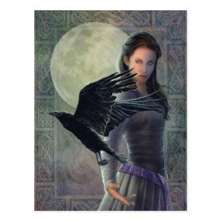 The Celtic Raven Postcard
