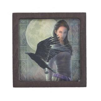 The Celtic Raven Premium Jewelry Box