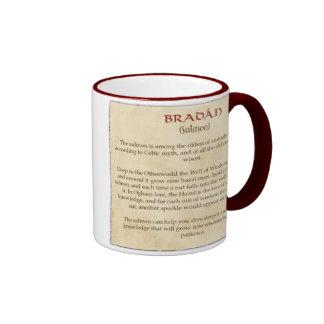The Celtic Salmon Ringer Coffee Mug