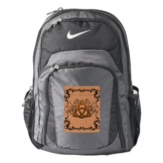 The celtic sign with roses nike backpack