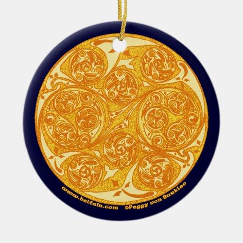 The Celtic Spiral Art Mandala Ornament