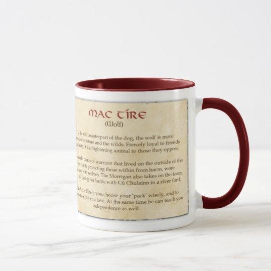 The Celtic Wolf Mug
