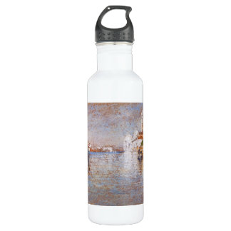 The Cemetery by James Abbott McNeill Whistler Water Bottle