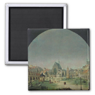 The Cemetery of the Innocents 2 Inch Square Magnet