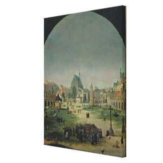 The Cemetery of the Innocents Canvas Print