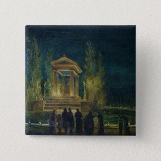 The Cenotaph of Jean Jacques Rousseau Pinback Button
