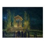 The Cenotaph of Jean Jacques Rousseau Postcard