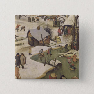 The Census at Bethlehem Button