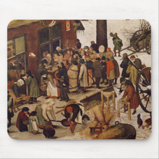 The Census at Bethlehem, detail of census office Mouse Pad