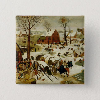The Census at Bethlehem Pinback Button
