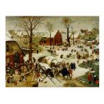 The Census at Bethlehem Postcard