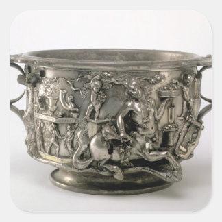 The Centaur Cup, Gallo-Roman, from the Berthouvill Square Sticker