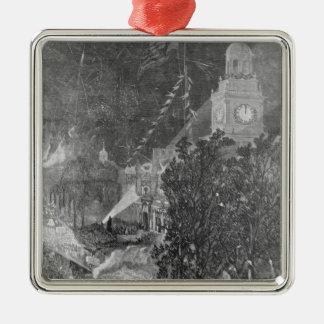 The Centennial Fourth Metal Ornament