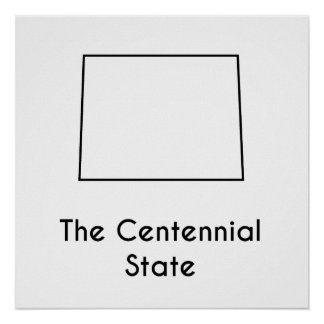 The Centennial State Poster