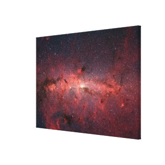 The center of the Milky Way Galaxy Canvas Print
