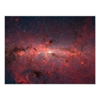The center of the Milky Way Galaxy Photo Print