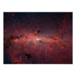 The center of the Milky Way Galaxy Print