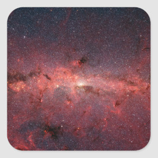 The center of the Milky Way Galaxy Square Sticker