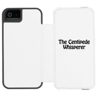 the centipede whisperer incipio watson™ iPhone 5 wallet case