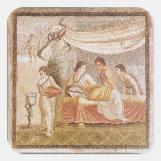 The Centocelle Mosaic Square Sticker