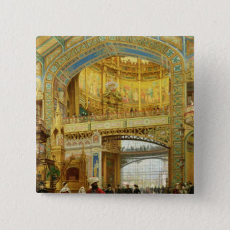 The Central Dome of the Universal Exhibition Pinback Button