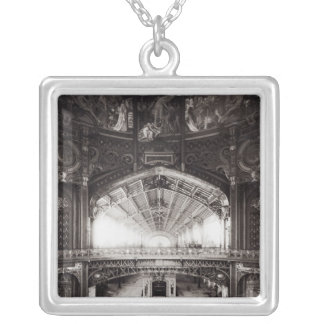 The Central Dome Silver Plated Necklace