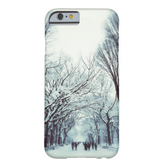 The Central Park Mall In Winter Barely There iPhone 6 Case