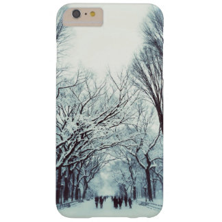 The Central Park Mall In Winter Barely There iPhone 6 Plus Case