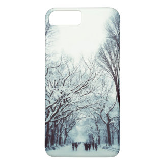 The Central Park Mall In Winter iPhone 7 Plus Case