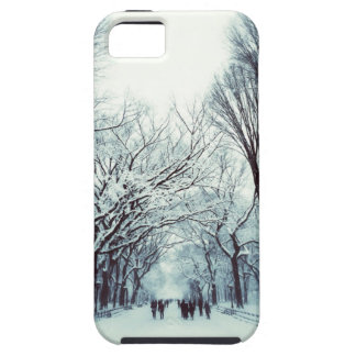 The Central Park Mall In Winter iPhone SE/5/5s Case