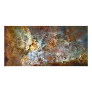 The central region of the Carina Nebula Photo Print