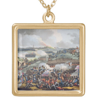 The Centre of the British Army in Action at the Ba Custom Necklace